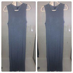 Comfortable striped maxi dress!